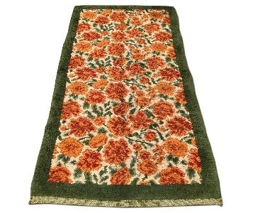 Antique Hand Woven Thick piled Savonnerie Area Rug/Runner