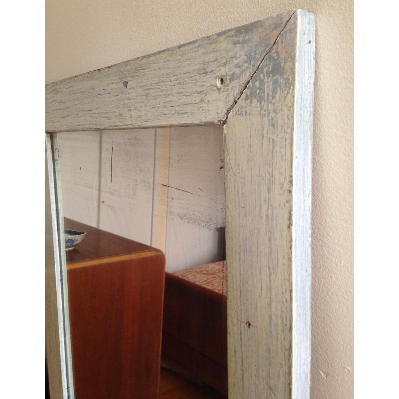 Antique Farmhouse Distressed Floor Mirror - image-2