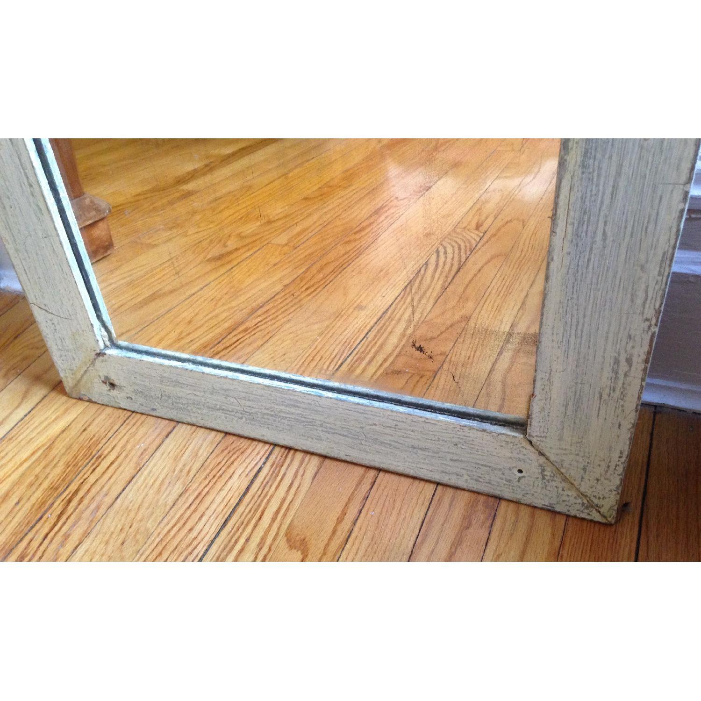 Antique Farmhouse Distressed Floor Mirror - image-3