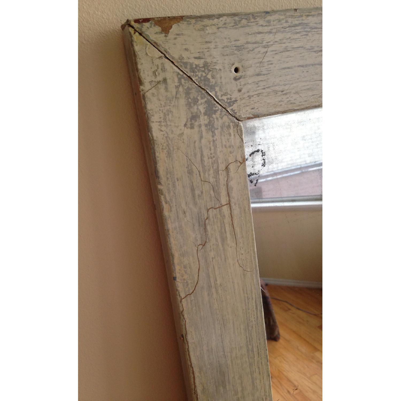 Antique Farmhouse Distressed Floor Mirror - image-4