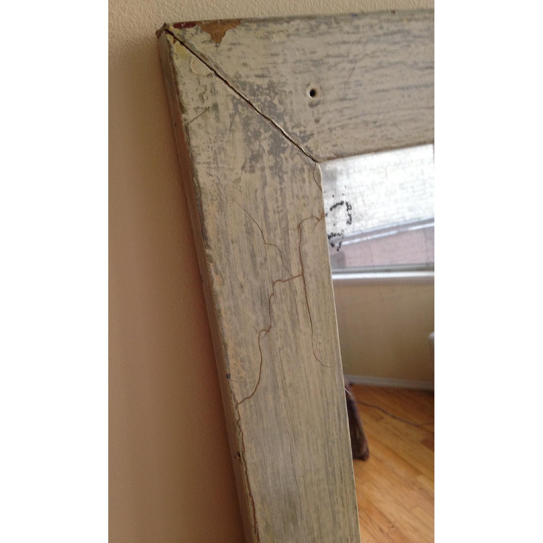 Antique Farmhouse Distressed Floor Mirror - image-5