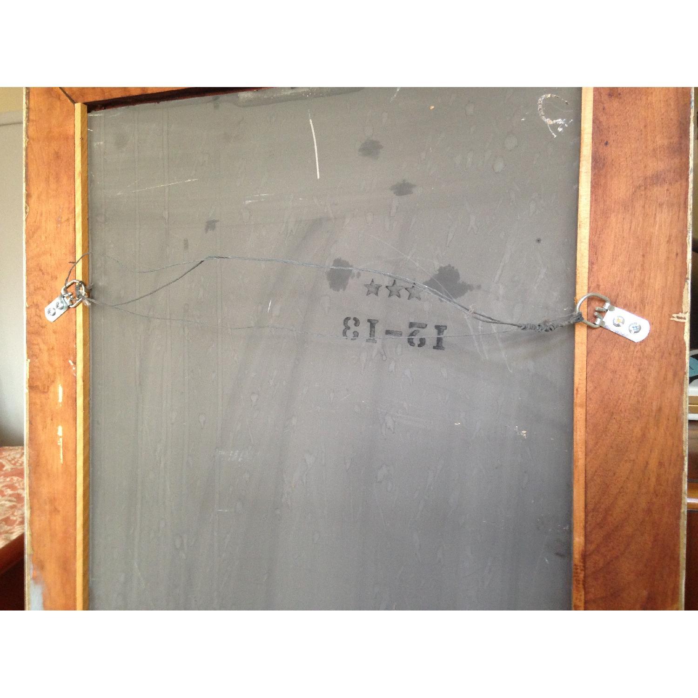 Antique Farmhouse Distressed Floor Mirror - image-7