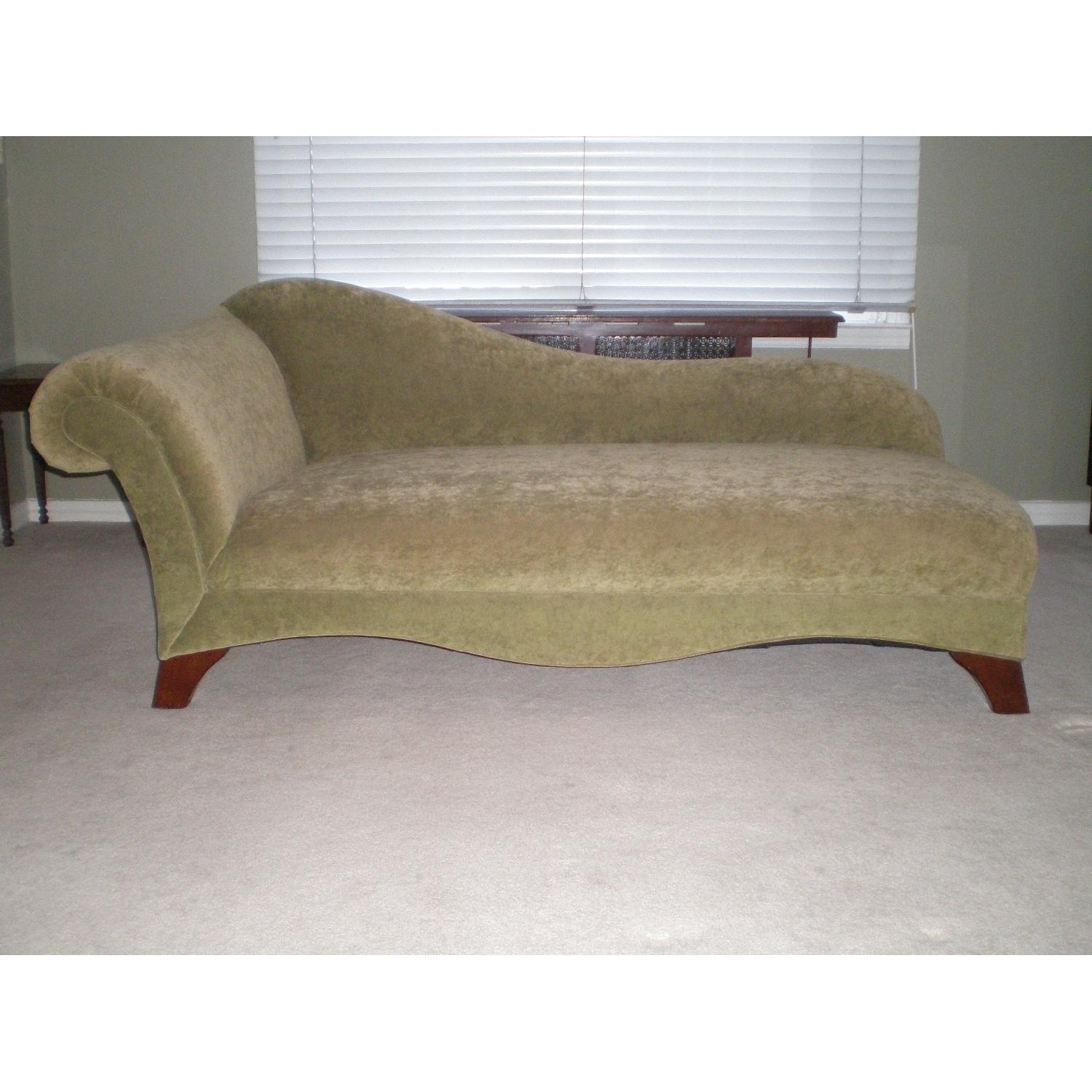 Chaise Lounge with Matching Pillow - image-2
