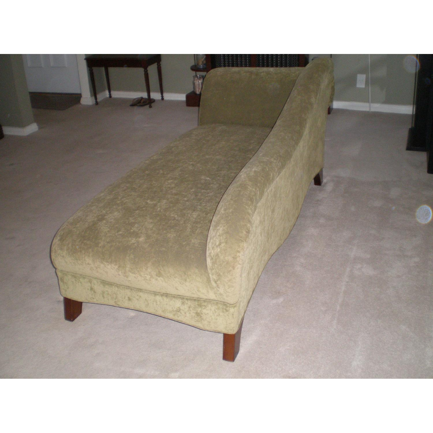 Chaise Lounge with Matching Pillow - image-3