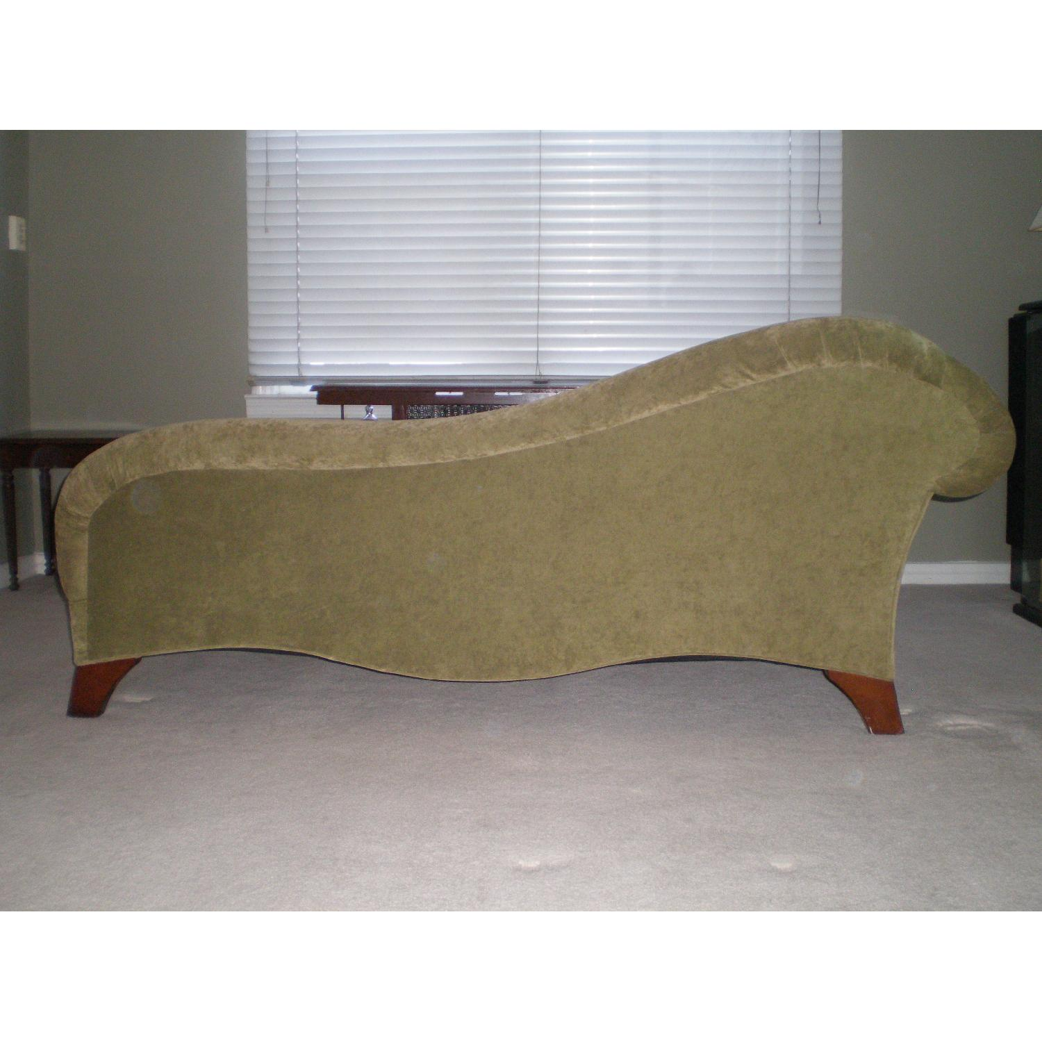 Chaise Lounge with Matching Pillow - image-4