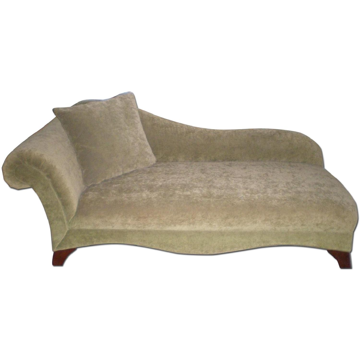 Chaise Lounge with Matching Pillow - image-0