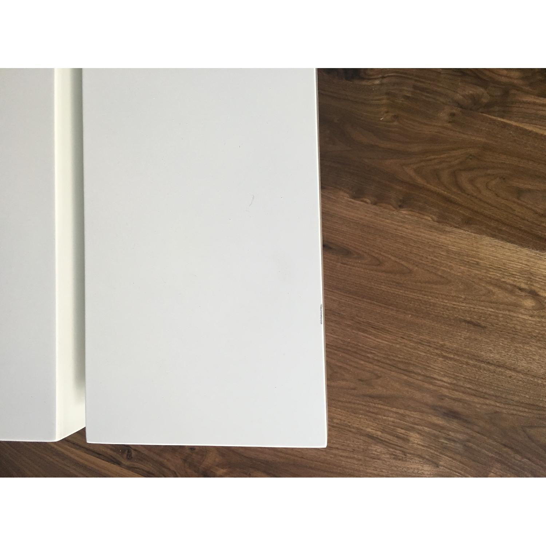 Lazzoni White Lacquer Storage Coffee Table - image-10