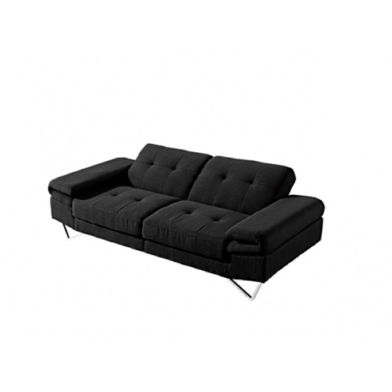 Smart Sofa Black Sofa Bed - image-0