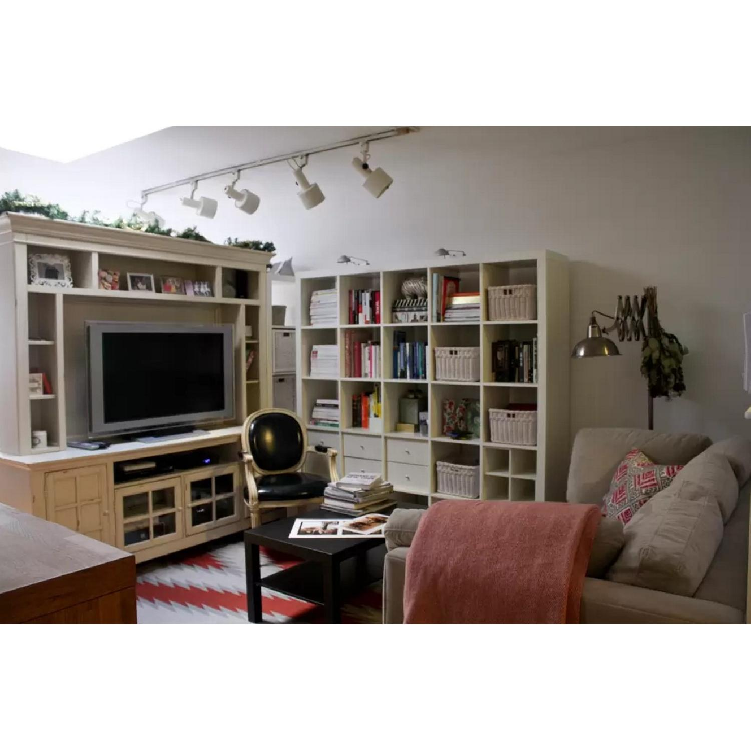 Liberty Furniture Distressed Off-White Entertainment Unit - image-1