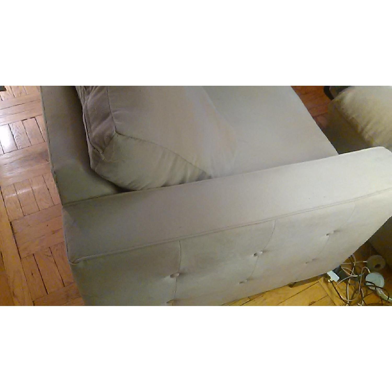 Light Brown Sofa + Armchair - image-3