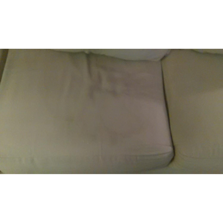 Light Brown Sofa + Armchair - image-6