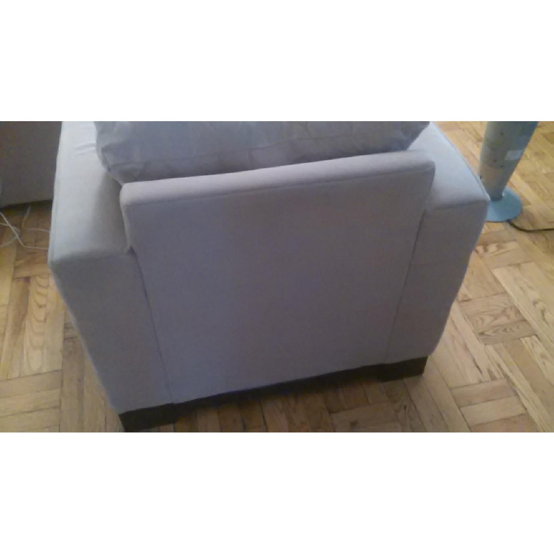 Light Brown Sofa + Armchair - image-8