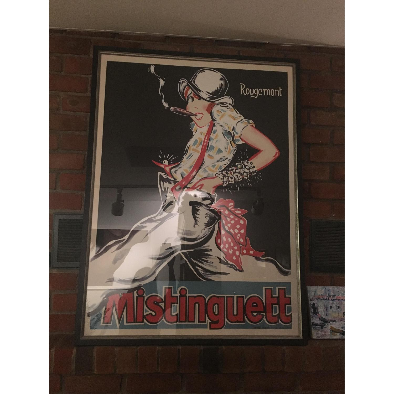 Bohemian Framed Poster Mistinguett - image-1