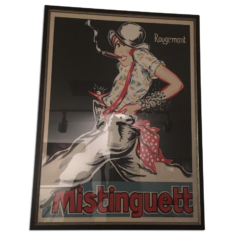 Bohemian Framed Poster Mistinguett - image-0