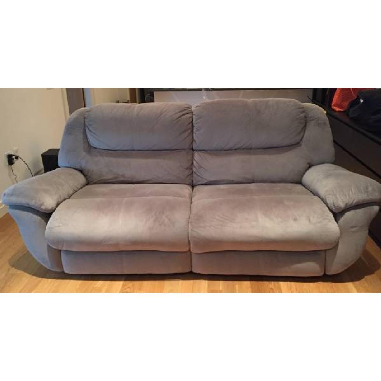 Bob's Dual Manual Reclining Sofa - image-1