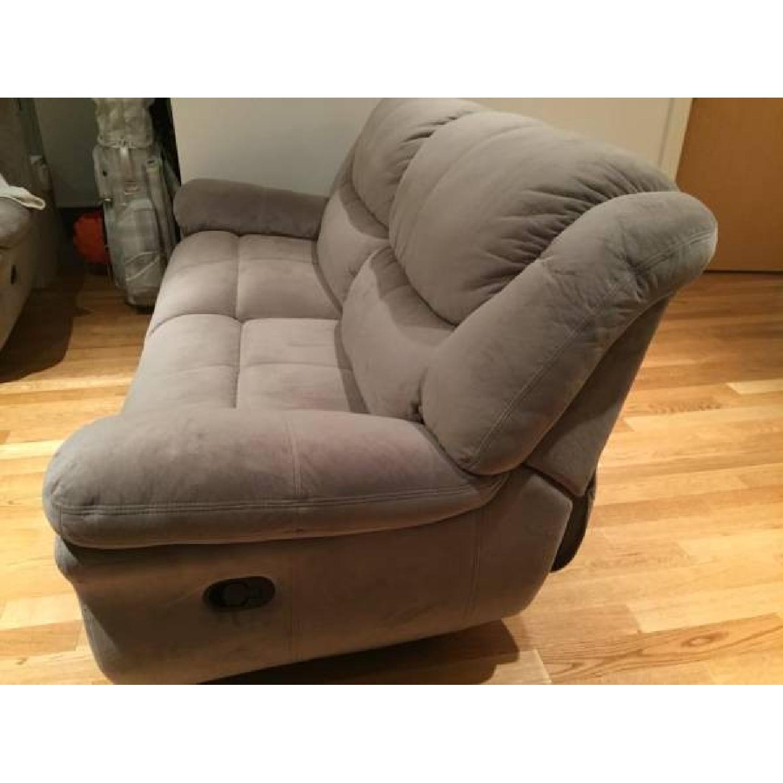 Bob's Dual Manual Reclining Sofa - image-2
