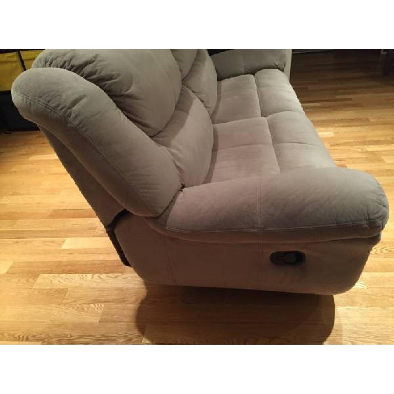 Bob's Dual Manual Reclining Sofa - image-3