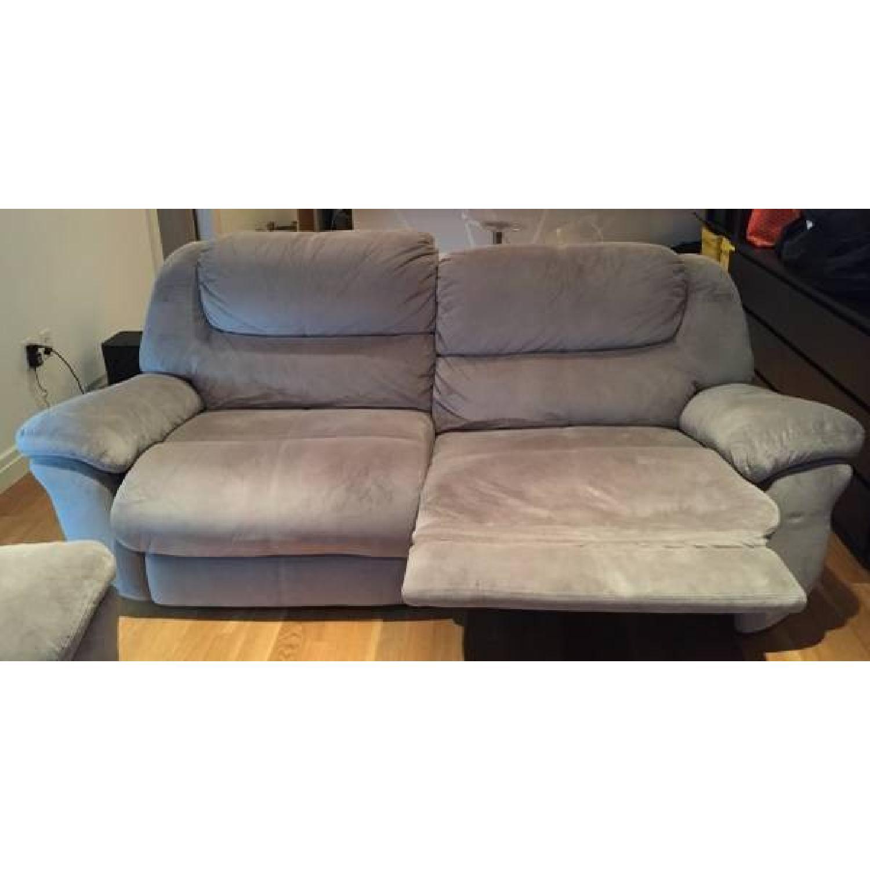 Bob's Dual Manual Reclining Sofa - image-9