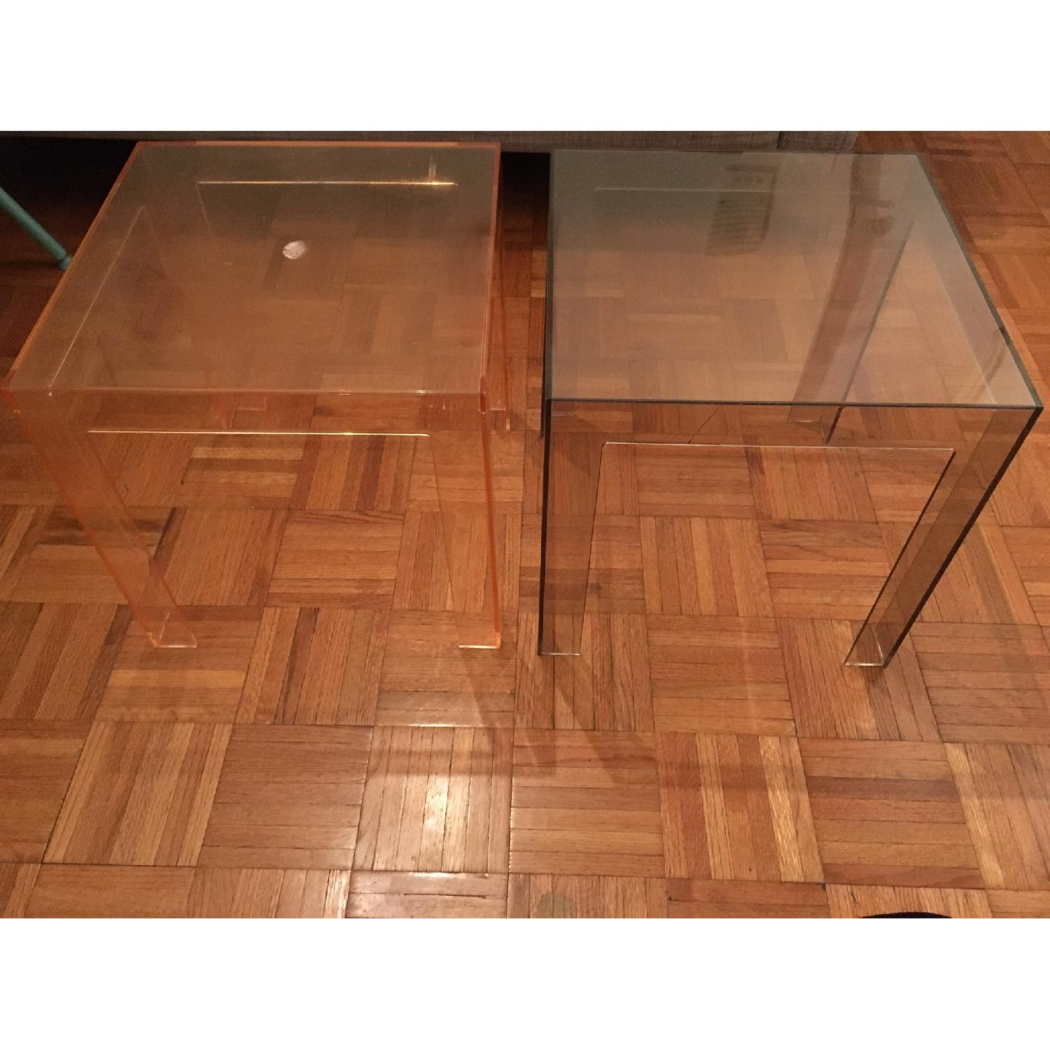 Kartell Jolly Side Tables - Pair - image-1