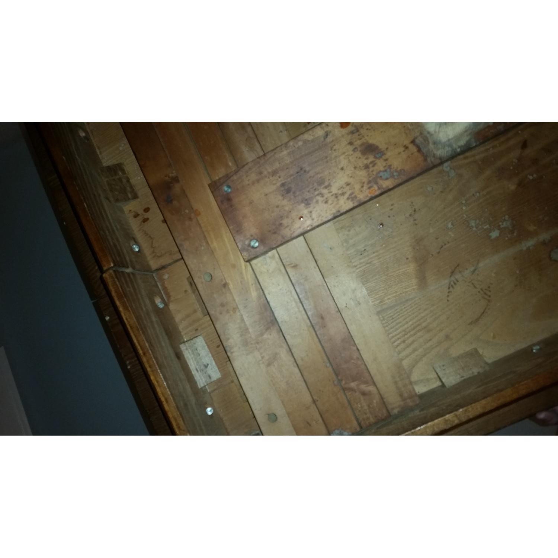 Antique Tiger Oak Dining Table - image-4