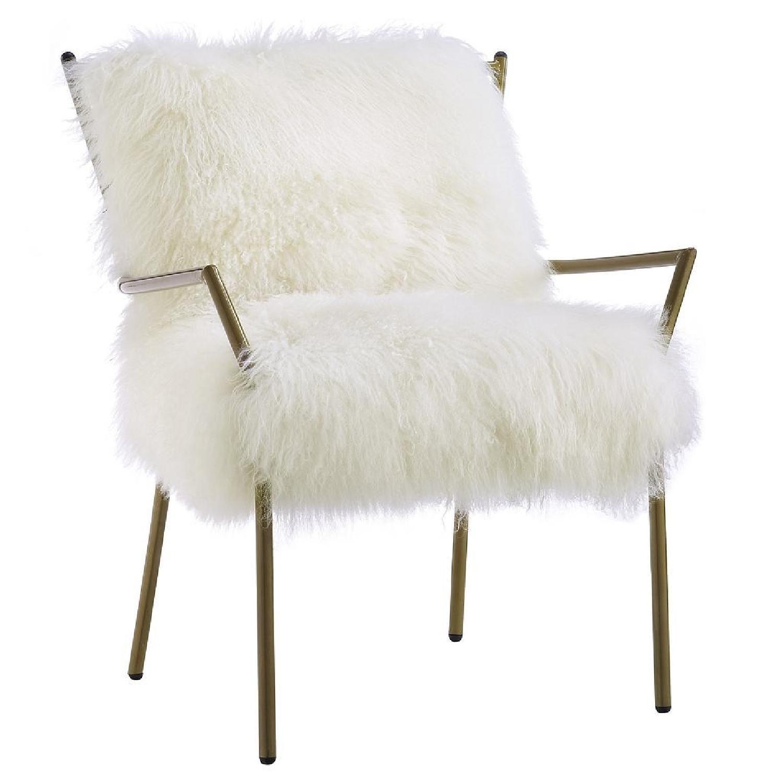 Lena Sheepskin Chair - image-0