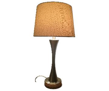 CB2 Stainless Steal Lamp