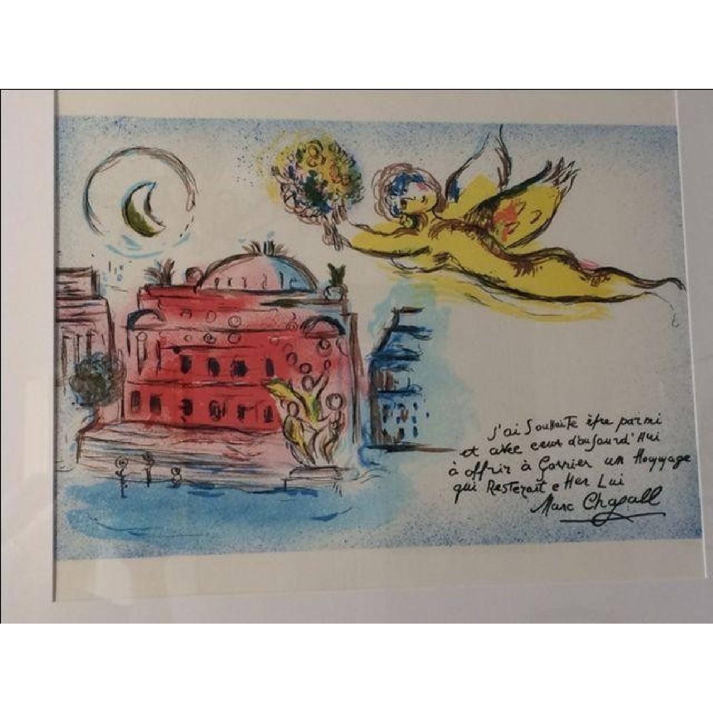 Chagall Homage to Garnier Lithograph - image-2