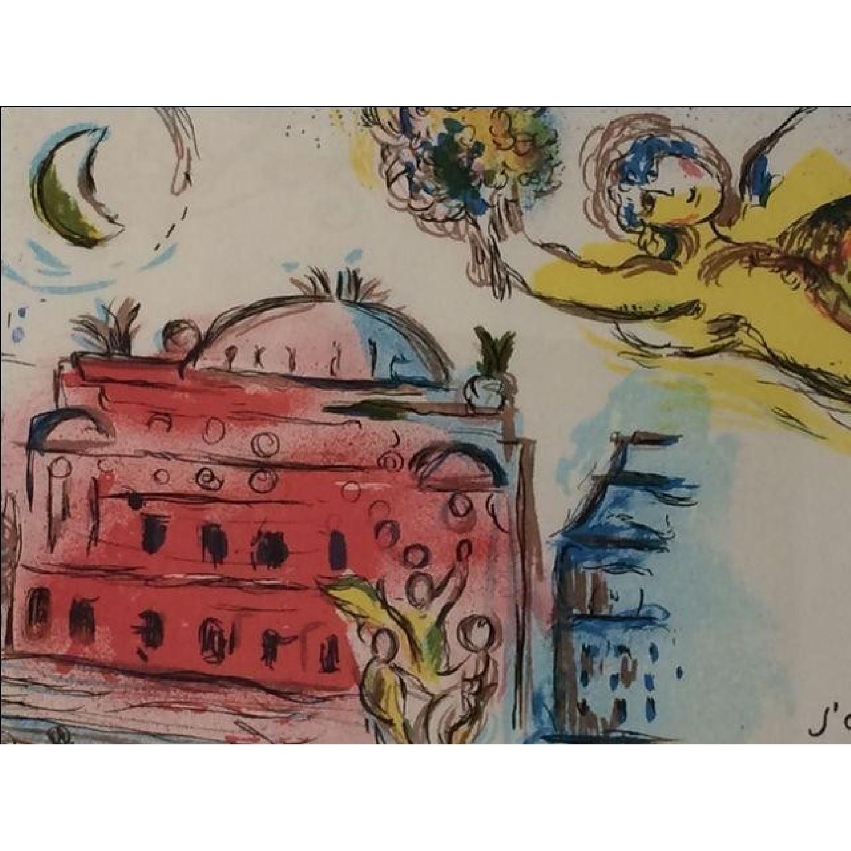 Chagall Homage to Garnier Lithograph - image-3