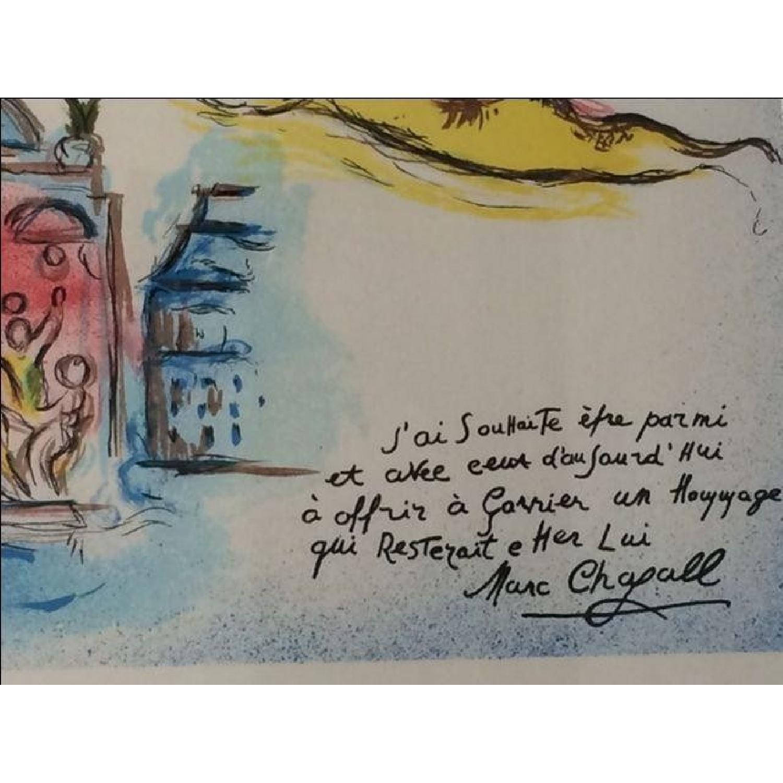 Chagall Homage to Garnier Lithograph - image-5