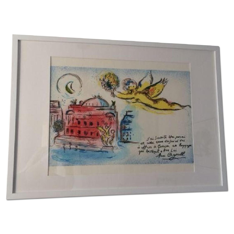 Chagall Homage to Garnier Lithograph - image-0