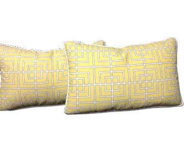 Decorative Pillows - Pair