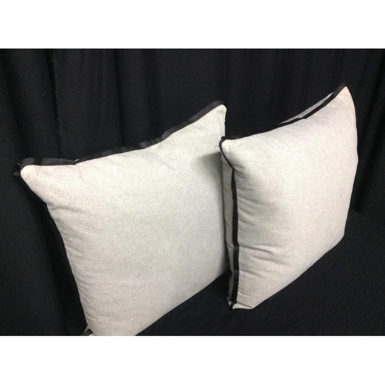 Vintage Fabric Decorative Custom Pillows - Pair - image-2