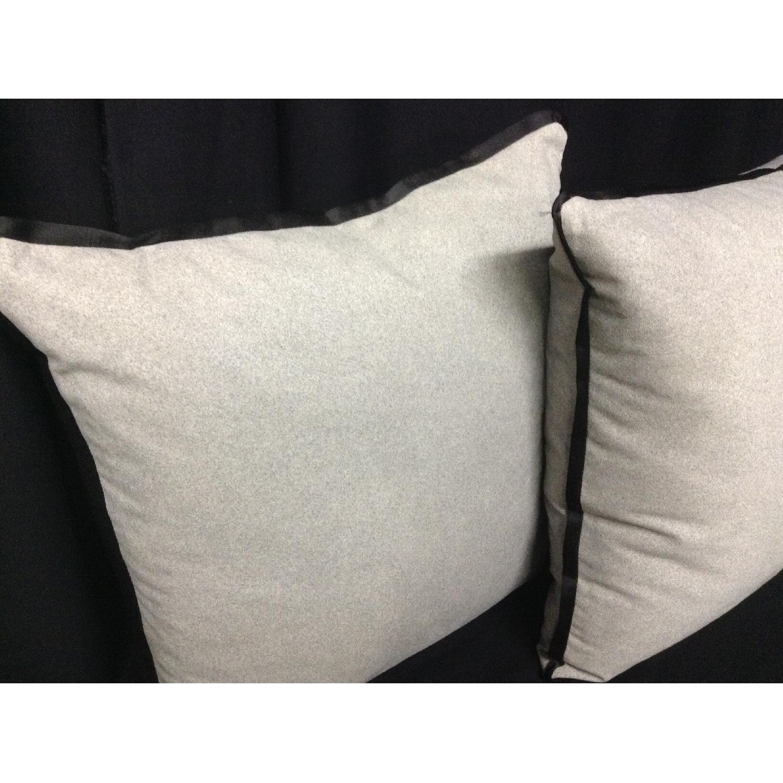 Vintage Fabric Decorative Custom Pillows - Pair - image-5