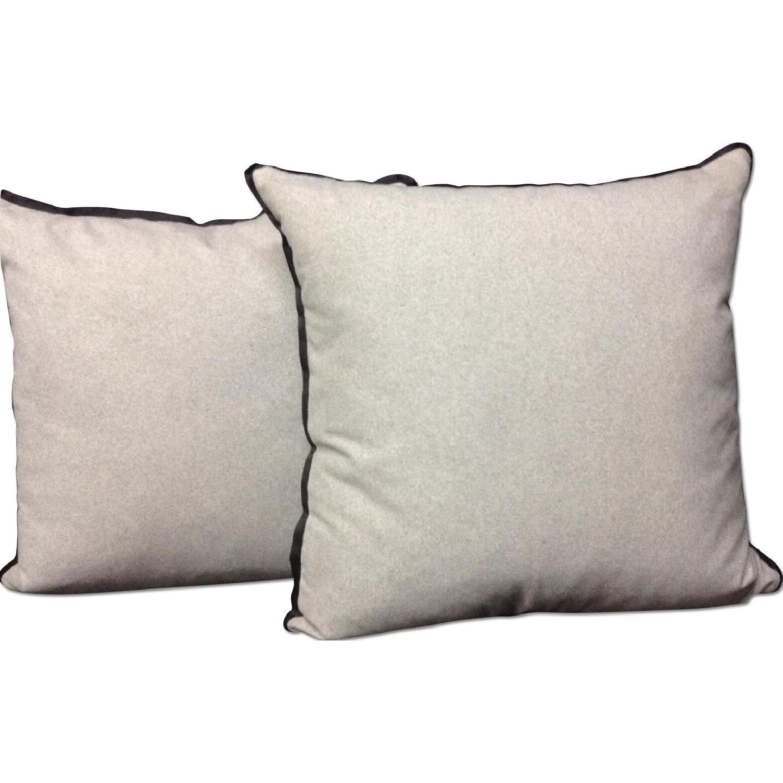 Vintage Fabric Decorative Custom Pillows - Pair - image-0