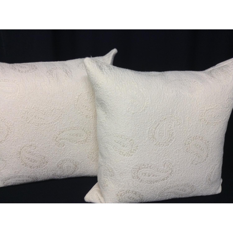 VintageFabric Decorative Custom Pillows - Pair - image-1