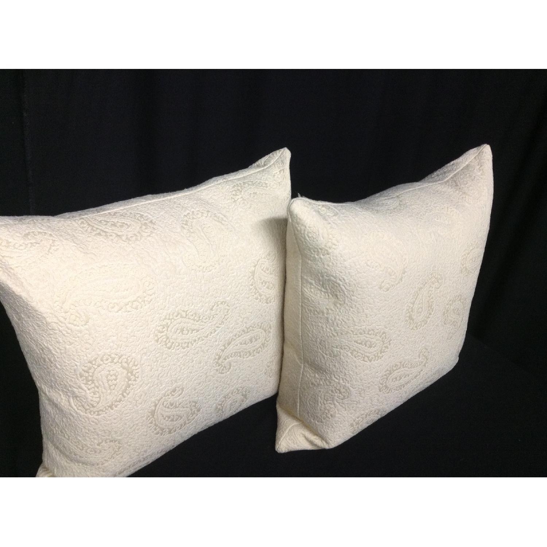 VintageFabric Decorative Custom Pillows - Pair - image-2
