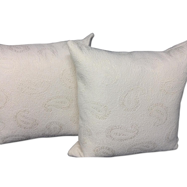 VintageFabric Decorative Custom Pillows - Pair - image-0