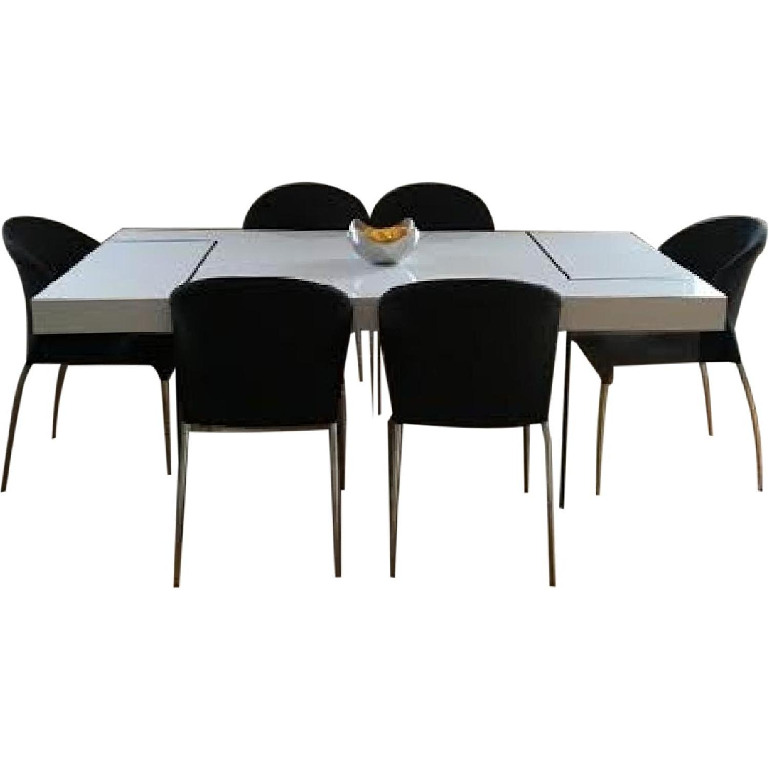 Dining Table w/ 6 Chairs - image-0