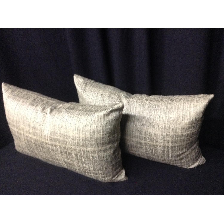 Ballard Designs Fabric Decorative Pillows - Pair - image-4