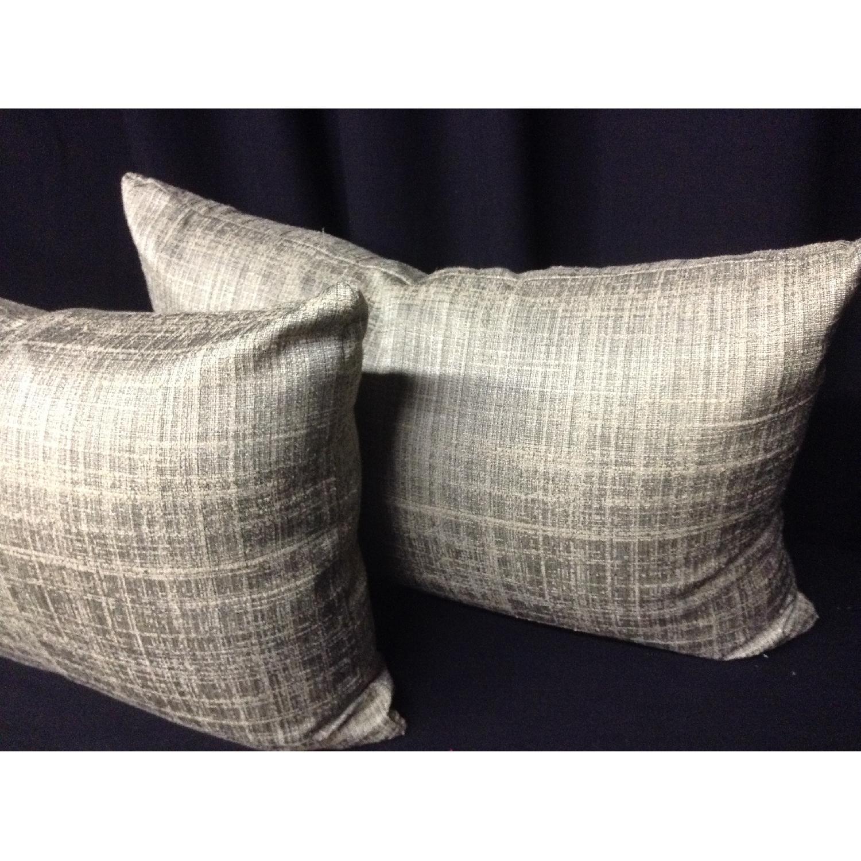 Ballard Designs Fabric Decorative Pillows - Pair - image-5