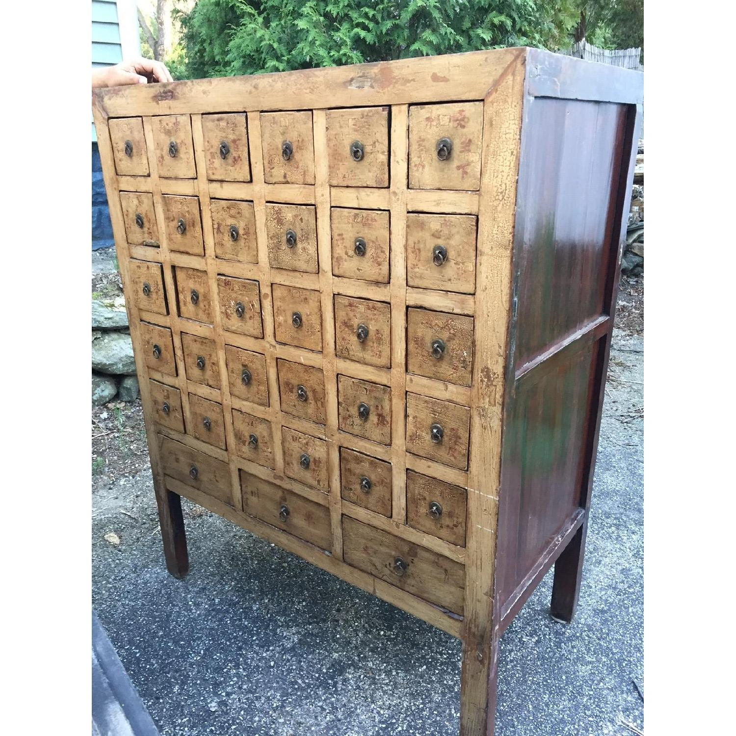 Vintage Chinese Apothocary Chest - image-1