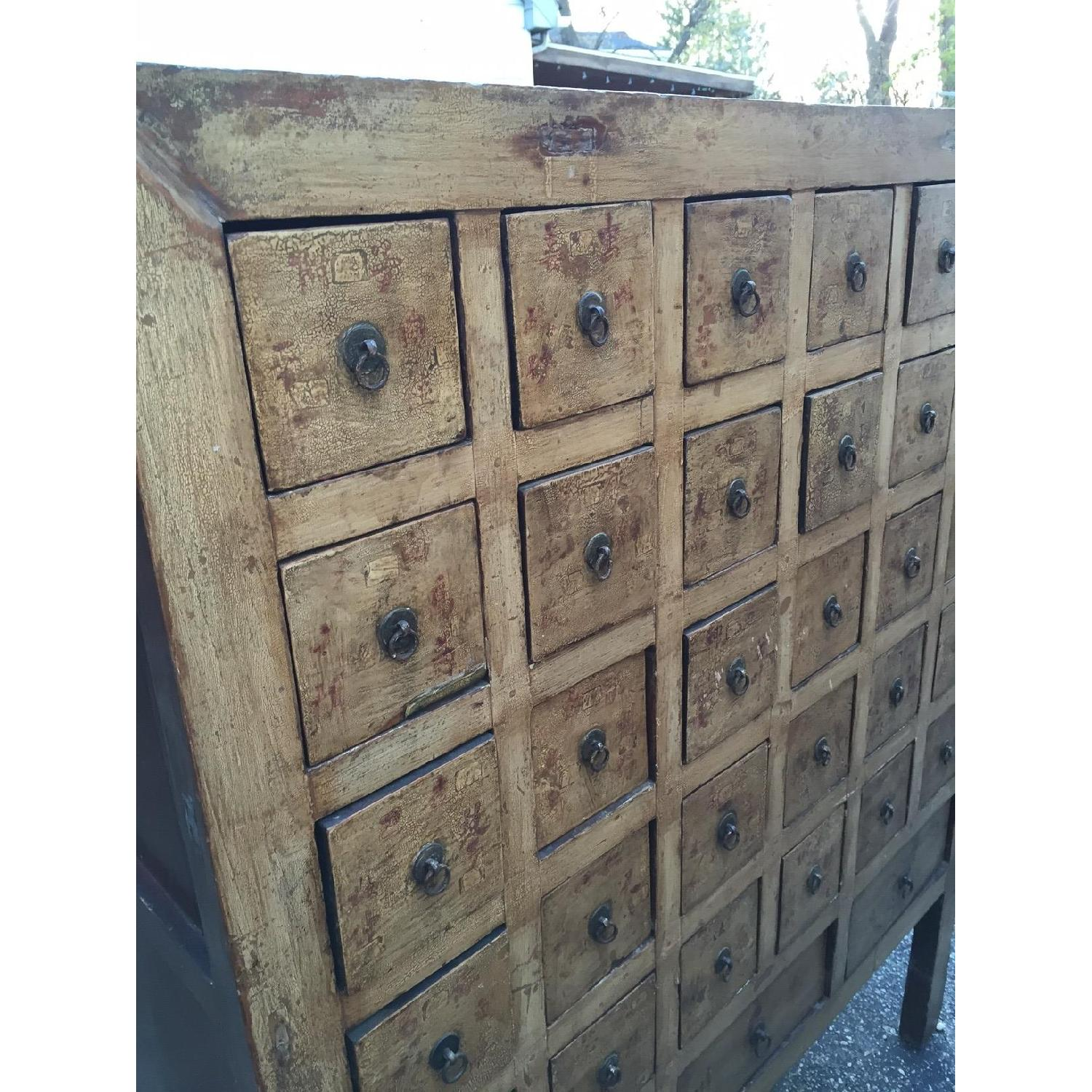 Vintage Chinese Apothocary Chest - image-2
