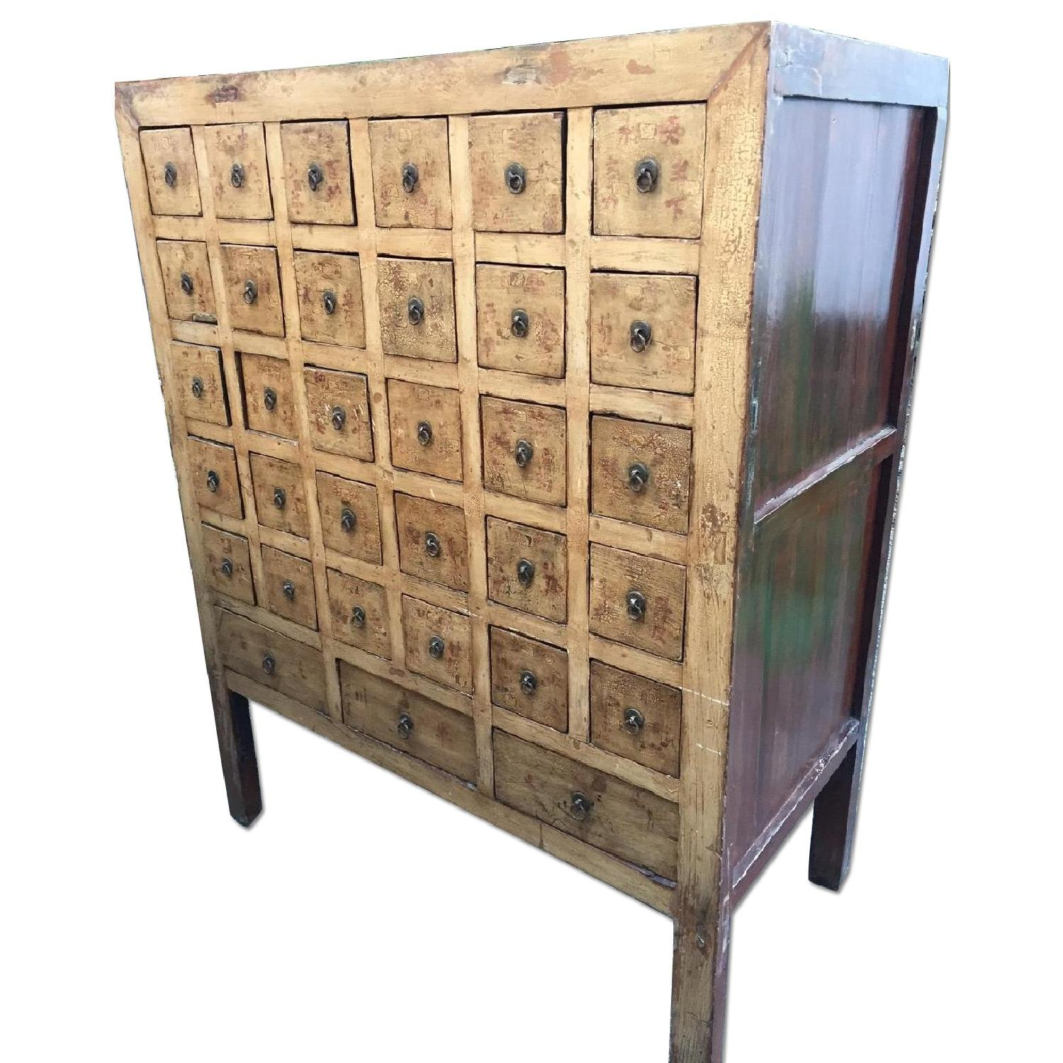Vintage Chinese Apothocary Chest - image-0