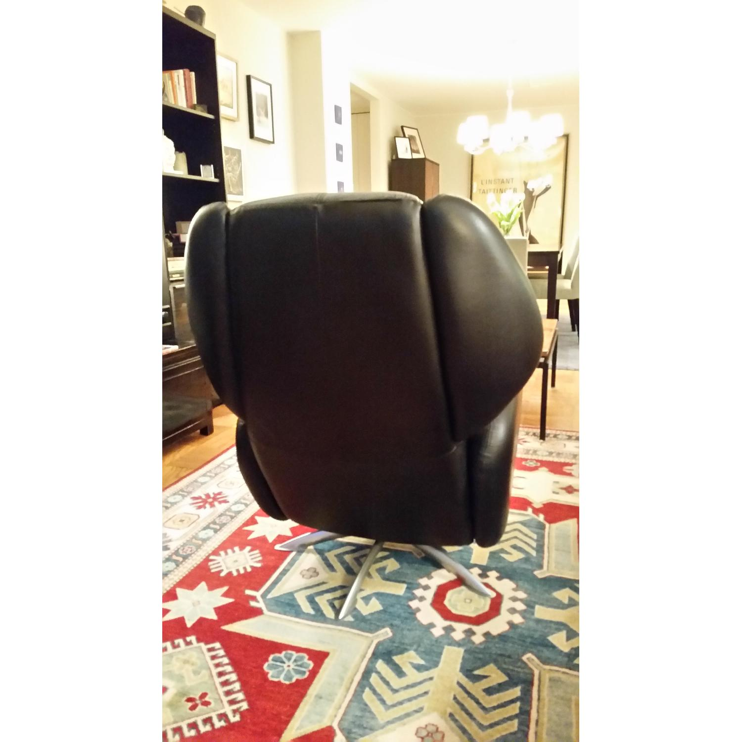 Lee's Art Shop Leather Reading Chair - image-3