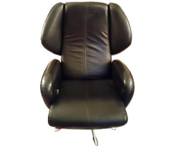Lee's Art Shop Leather Reading Chair