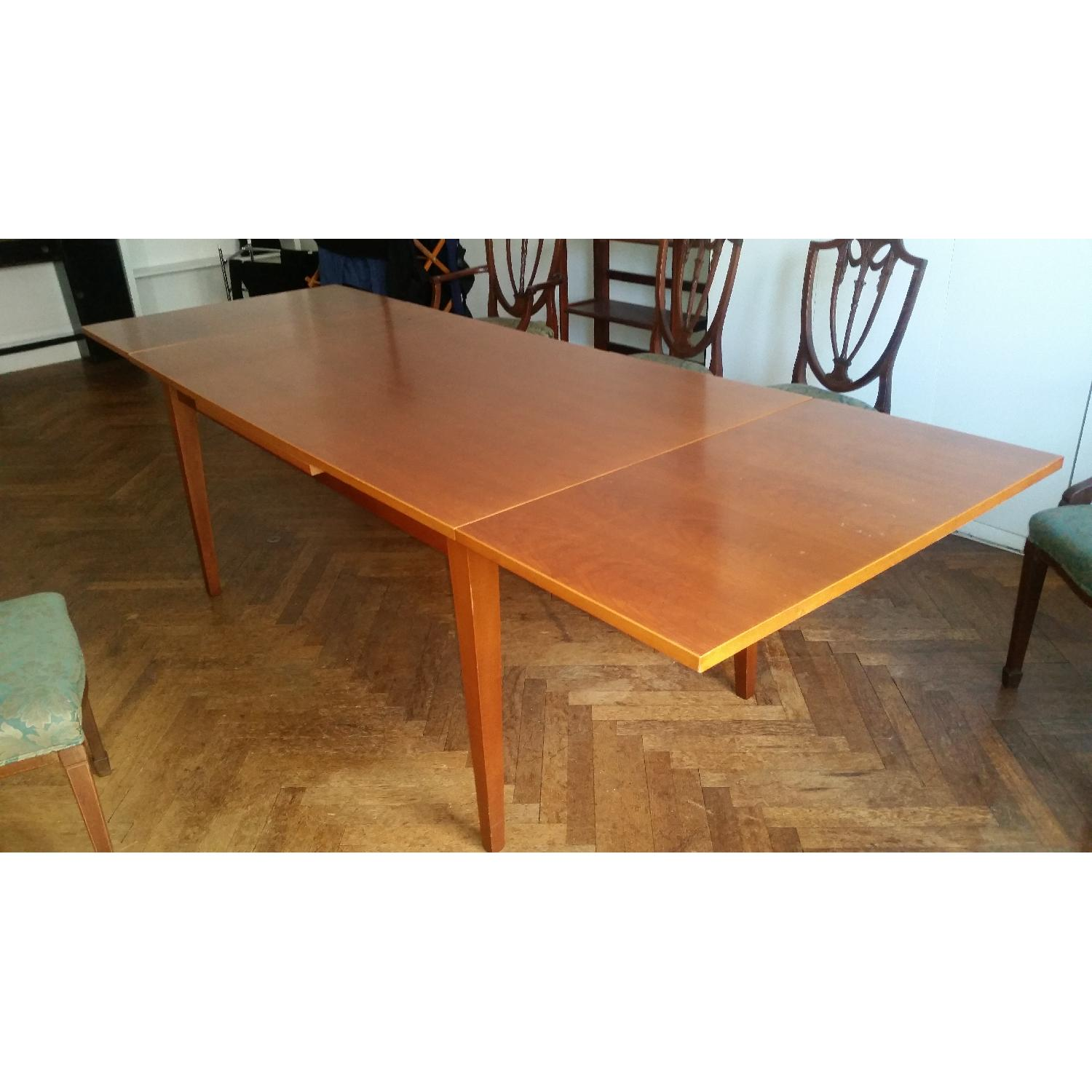 Fruit Wood Draw-Leaf Extension Table - image-2