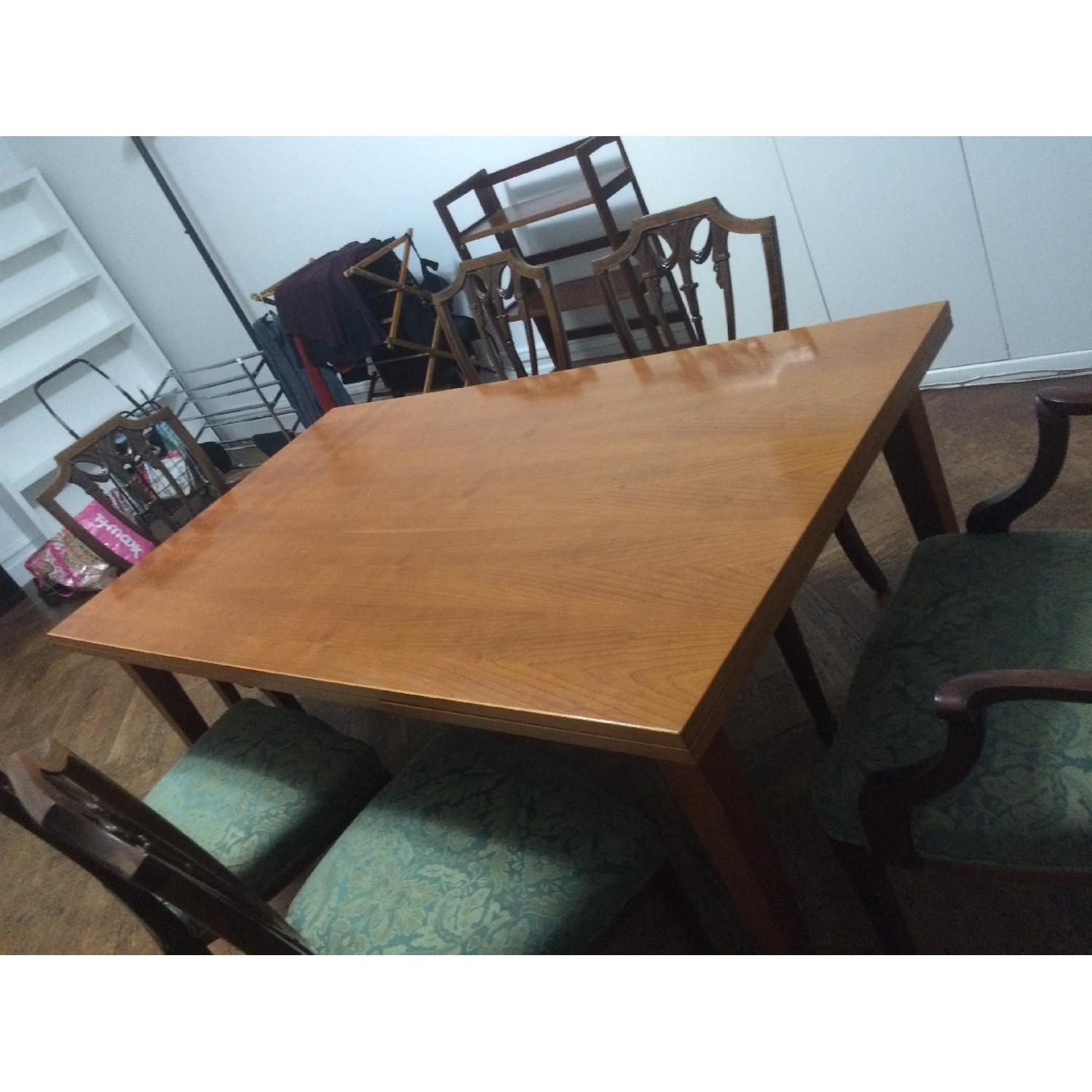 Fruit Wood Draw-Leaf Extension Table - image-7