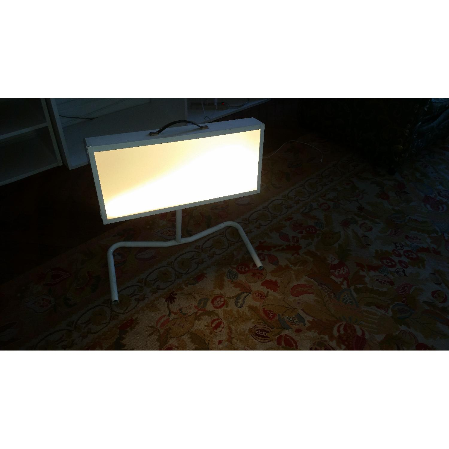 Custom Designed Light Therapy Box and Stand - image-1