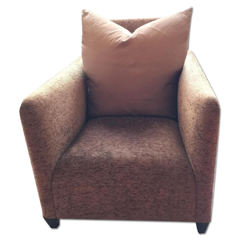 Donghia Savannah Club Chairs - Pair - image-0