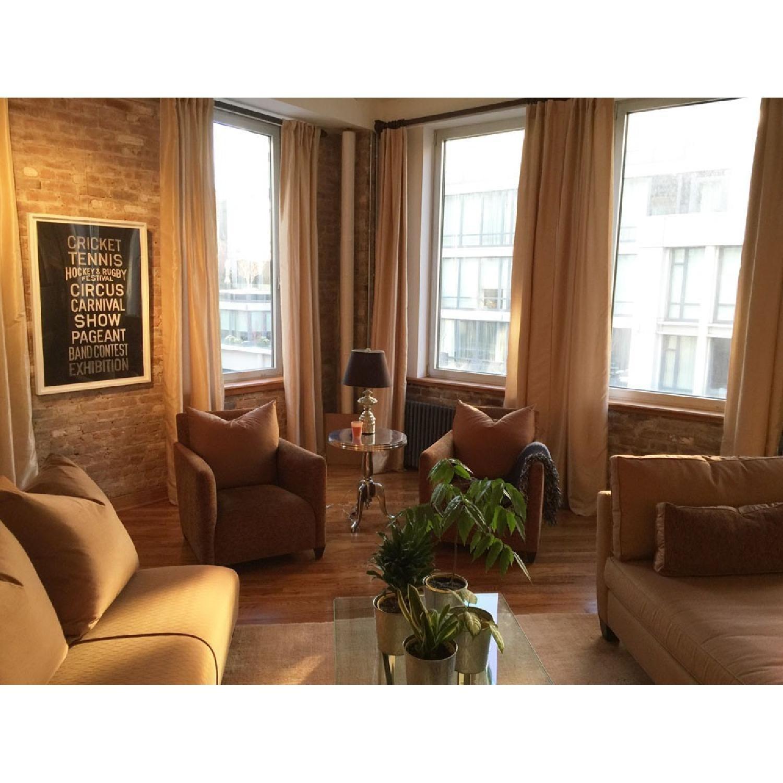 Donghia Savannah Club Chairs - Pair - image-1